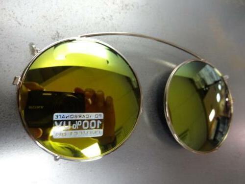 VINTAGE 60's Clear Lens ON SUN GLASSES & Frame