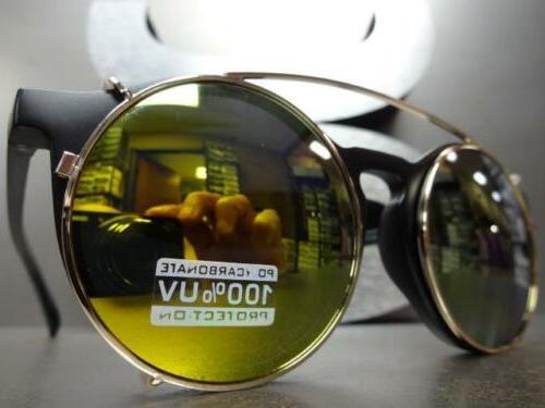 VINTAGE Style Lens CLIP ON & Frame