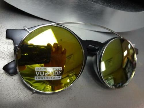 VINTAGE 60s Style Lens SUN GLASSES Round Fashion