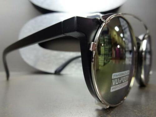 VINTAGE Clear Lens CLIP GLASSES Fashion