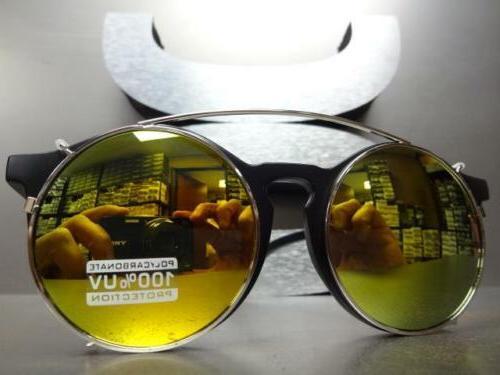 VINTAGE 60s Lens GLASSES Round Matte Fashion Frame