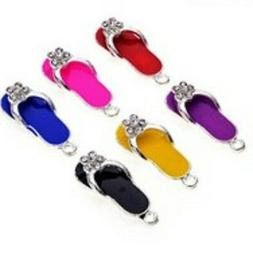 lovely flip flop with small rhinestones clip
