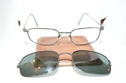 Flexon Magnetics 710MAG Marchon Eyeglass Frames W/OEM Clip-O