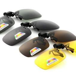Men's Sunglasses Night Vision Women Clip On Design Brand Pol