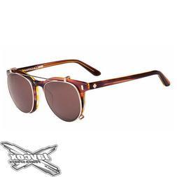 New Spy Optic Alcatraz Sunglasses - Pink Sunset - Happy Bron
