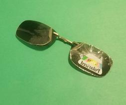 New Rectangle Magnetic Clip-On Sunglasses UV400 Polarized Fr