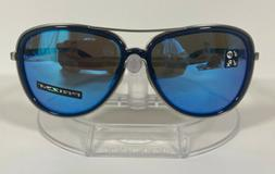 New Oakley Split time Sunglasses Navy Prizm Sapphire Polariz