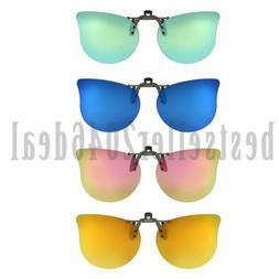 Polarized Clip On Flip up Sunglasses Prescription Glasses Ey