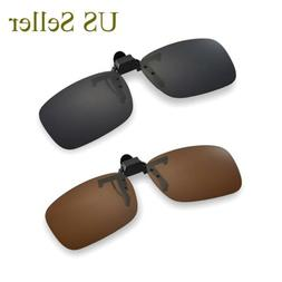Walleva Replacemen​t Lenses for Clip-on Flip-up Sunglasses
