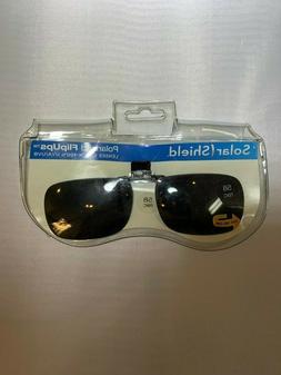 Solar Shield Clip-On Sunglasses