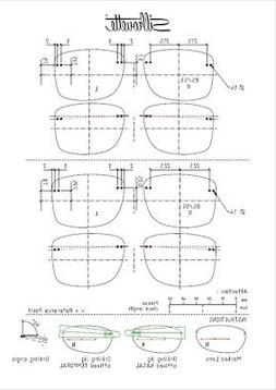 Silhouette TMA-The-Icon Shape-BS Clip-On Sunglasses 5076 Pol