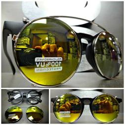 vintage 60s style clear lens clip on